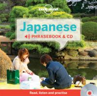 Lonely Planet Japanese Phrasebook & CD