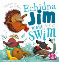Echidna Jim Went for A Swim