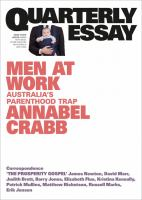 Annabel Crabb on Politics, Work and Gnder: Quarterly Essay 75