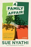 Cover of A family affair: a novel