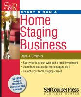 Image: Start & Run A Home Staging Business