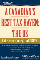 A Canadian's Best Tax Haven