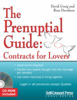 The Prenuptial Guide