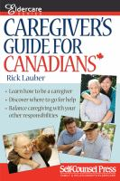 Caregiver's Guide for Canadians