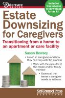 Estate Downsizing for Caregivers