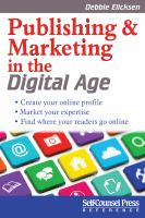 Publishing & Marketing in the Digital Age