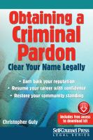 Obtaining A Criminal Pardon