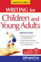 Writing for Children and Young Adults