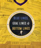 Blue Lines, Goal Lines & Bottom Lines