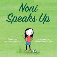 Noni Speaks up