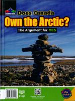 Does Canada Own the Arctic