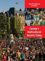 Canada's Multicultural Society Today