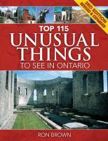Top 115 Unusual Things to See in Ontario