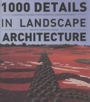 1000 Details in Landscape Architecture
