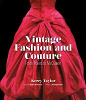 Vintage Fashion and Couture