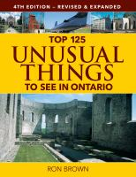 Image: Top 125 Unusual Things to See in Ontario