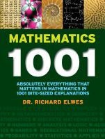 Mathematics 1001