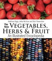 The New Vegetables, Herbs & Fruit