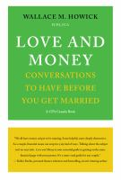 Love and money : conversations to have before you get married