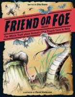 """Friend or Foe """"FOREST OF READING NOMINEES 2017"""""""
