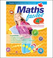 Maths faciles