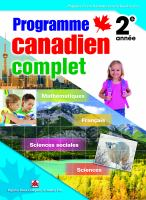 Programme Canadien complet