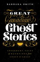 Image: Great Canadian Ghost Stories