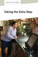 Taking the Extra Step
