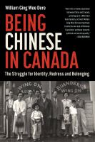 Being Chinese in Canada