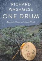 Media Cover for One Drum: stories and ceremonies for a planet