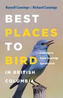 Cover of Best Places to Bird in British Columbia