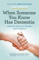 When Someone You Know Has Dementia