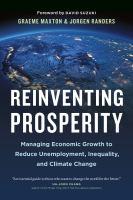 Reinventing Prosperity