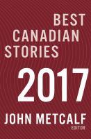 Best Canadian Stories, 2017