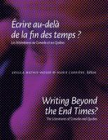 Writing beyond the end times?