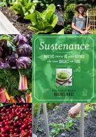 Sustenance : Writers From BC and Beyond on the Subject of Food