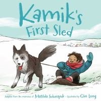 Kamik's First Sled