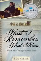 Image: What I Remember, What I Know