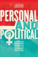 Personal and Political