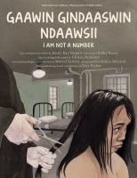 Gaawin gindaaswin ndaawsii = I am not a number