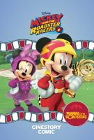 DISNEY MICKEY AND THE ROADSTER RACERS CINESTORY COMIC [graphic Novel]