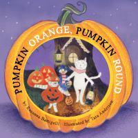 Pumpkin orange pumpkin round Book Cover
