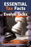 Evelyn Jacks' essential tax facts.