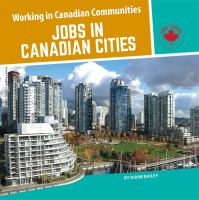 Jobs in Canadian Cities