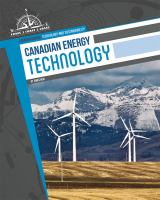 Canadian Energy Technology