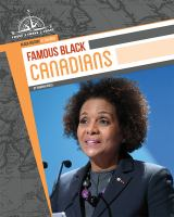 Famous Black Canadians