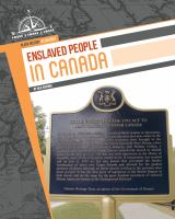 Enslaved People in Canada
