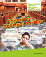 Canada's Political Parties
