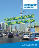 Government and climate change