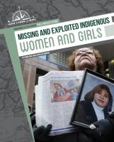 Missing and Exploited Indigenous Women and Girls